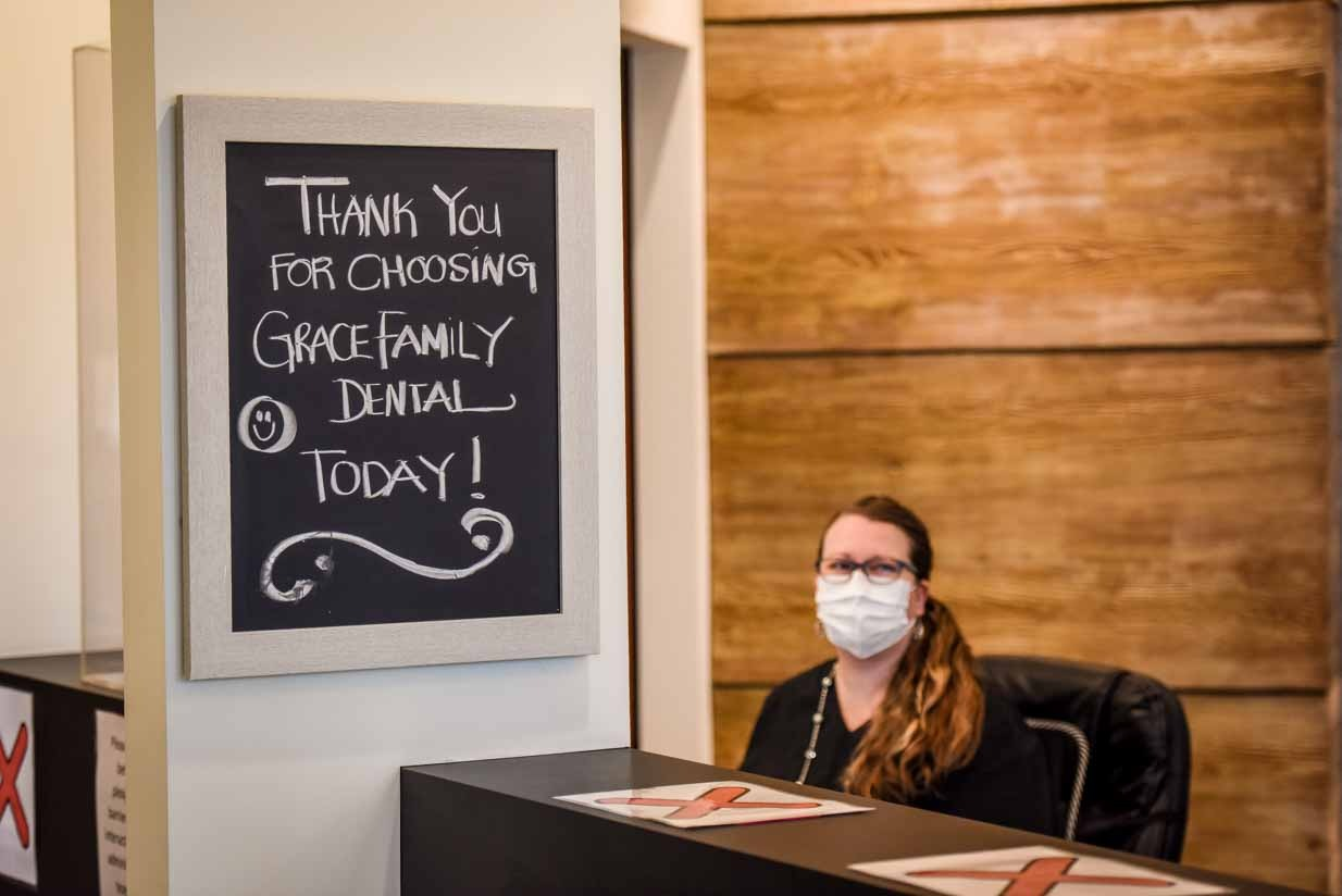 Main Reception | Grace Family Dental | Airdrie Dentist