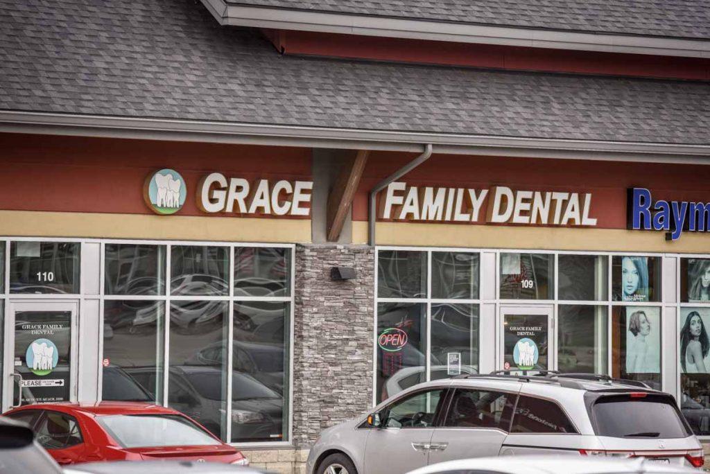 Exterior   Grace Family Dental   Airdrie Dentist