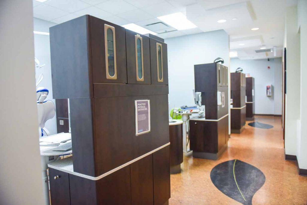 Hallway Reverse   Grace Family Dental   Airdrie Dentist