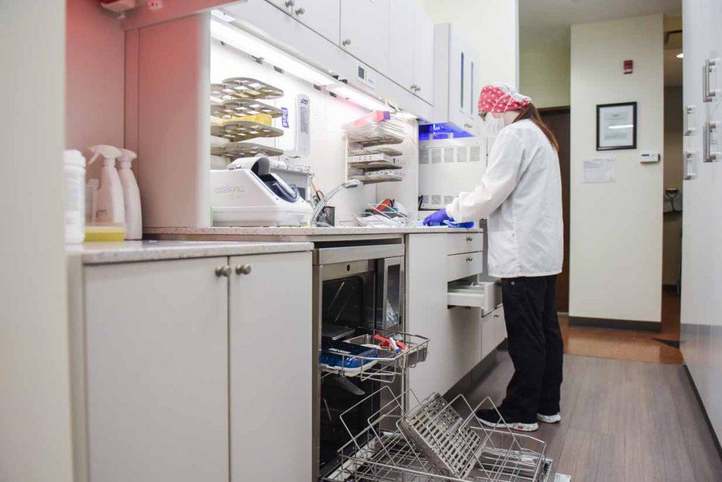 Sterilization Area   Grace Family Dental   Airdrie Dentist